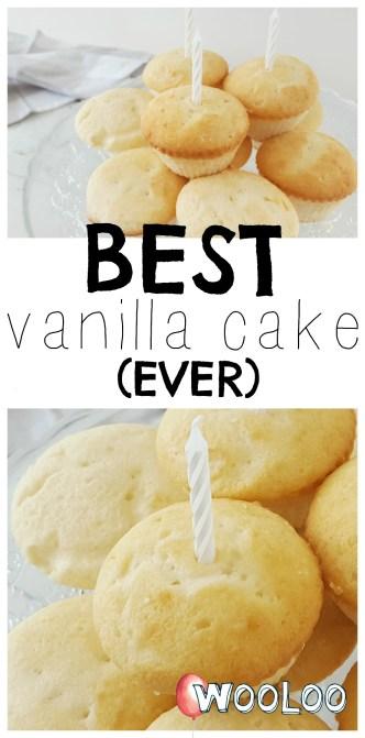 best vanilla  cake wooloo