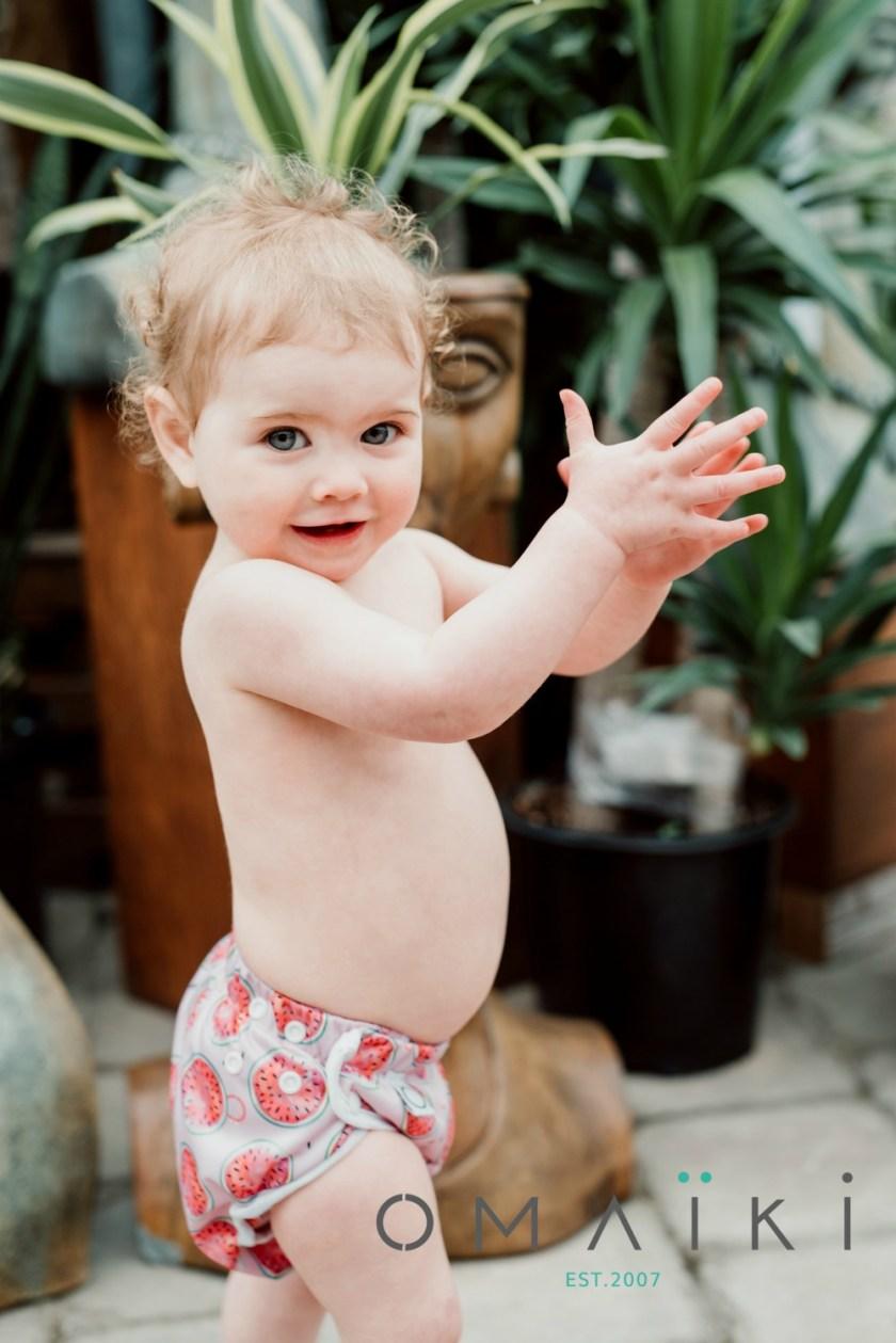 aller à la piscine avec son poupon wooloo