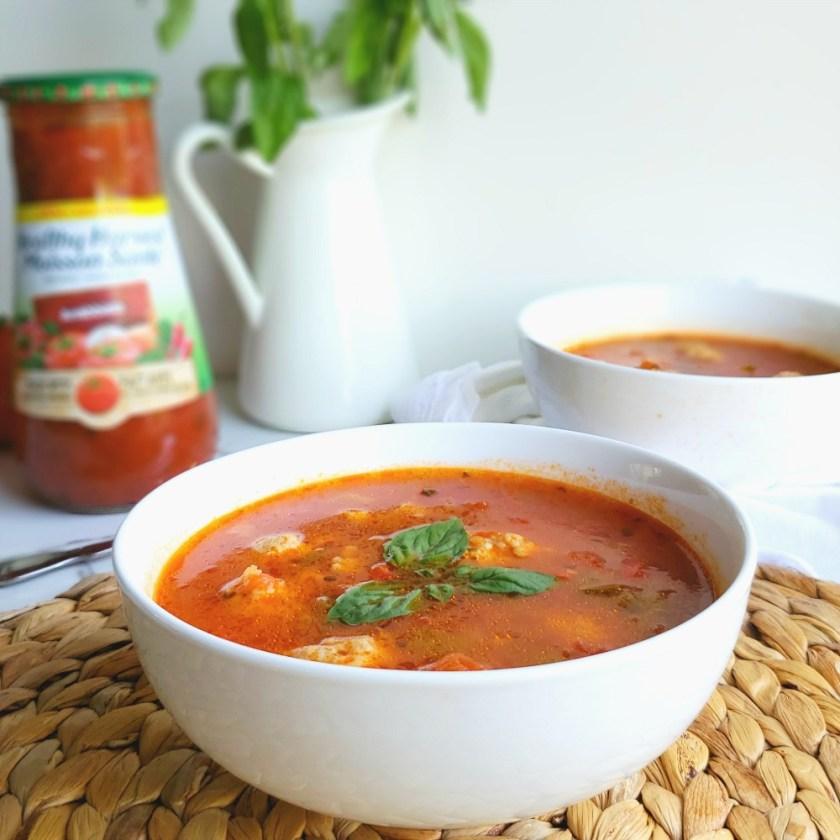Soupe facile aux boulettes wooloo
