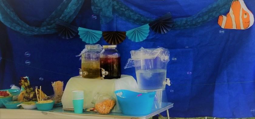 fête d'enfants sous la mer wooloo