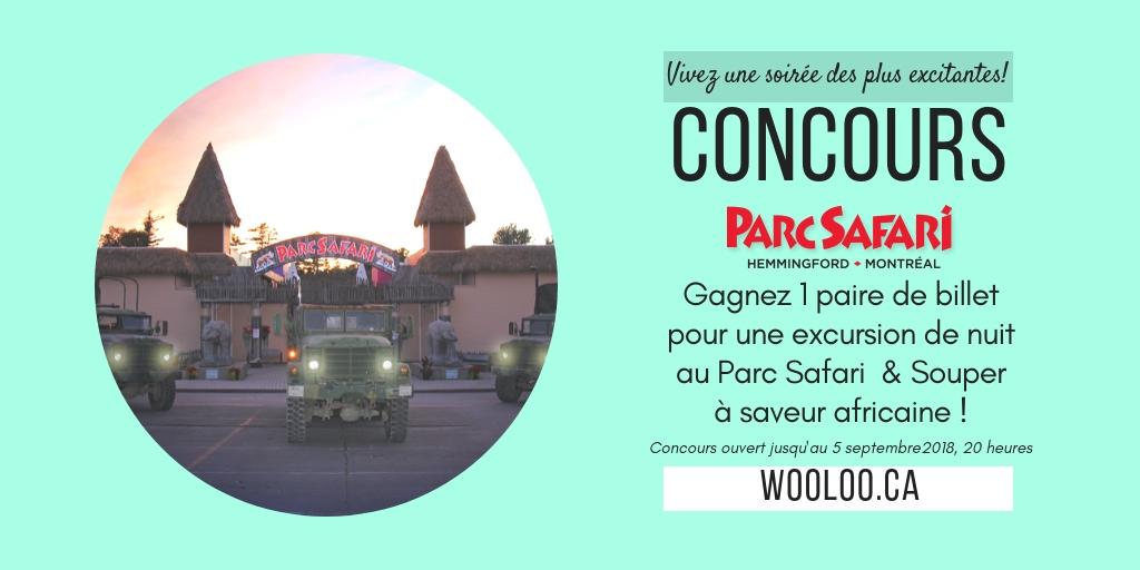 CONCOURS: Expédition de nuit au Parc Safari