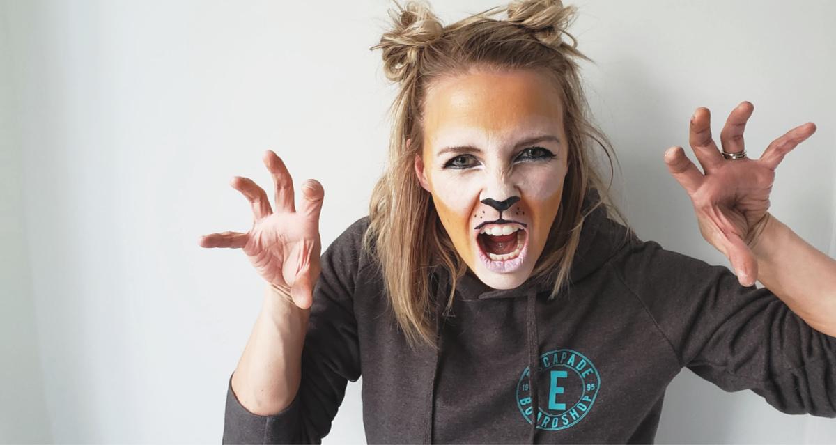 Tuto maquillage de Lion