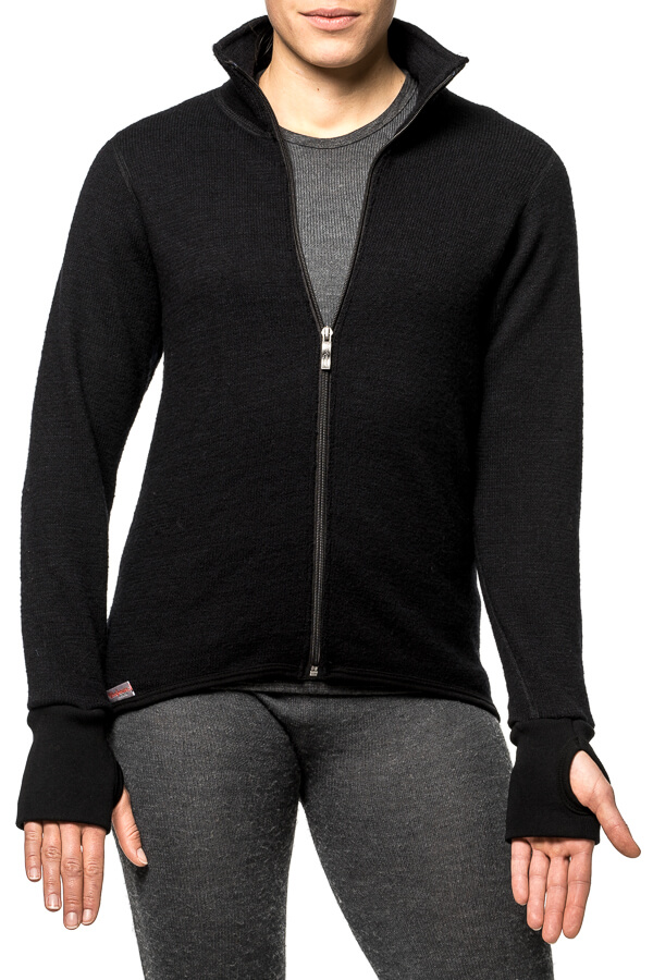 Young Female Adult Wearing a Black Full zip Jacket 600