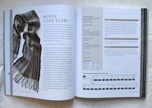Morse code scarf