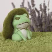 旅行青蛙(旅かえる)羊毛氈