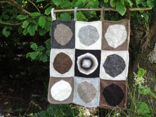 pop blanket (or wall hanging!)
