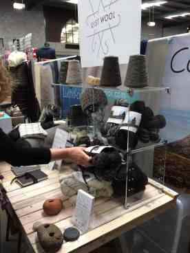 getting to grips with the wool at woolfest