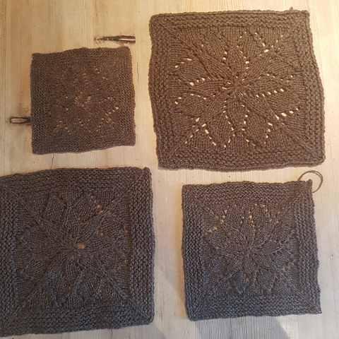 all four by © knittingjinny