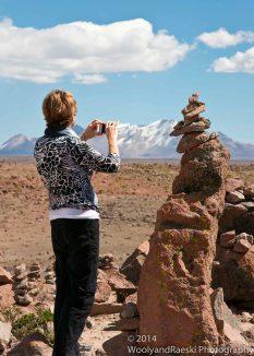 Raeski captures the balanced rocks.