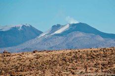 A closer image of Sabancaya volcano.