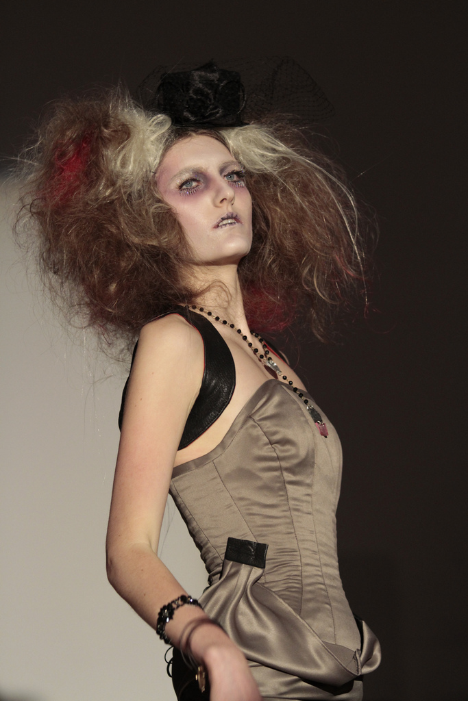 Hair Styles at Fashion Show by Paul Mitchell School