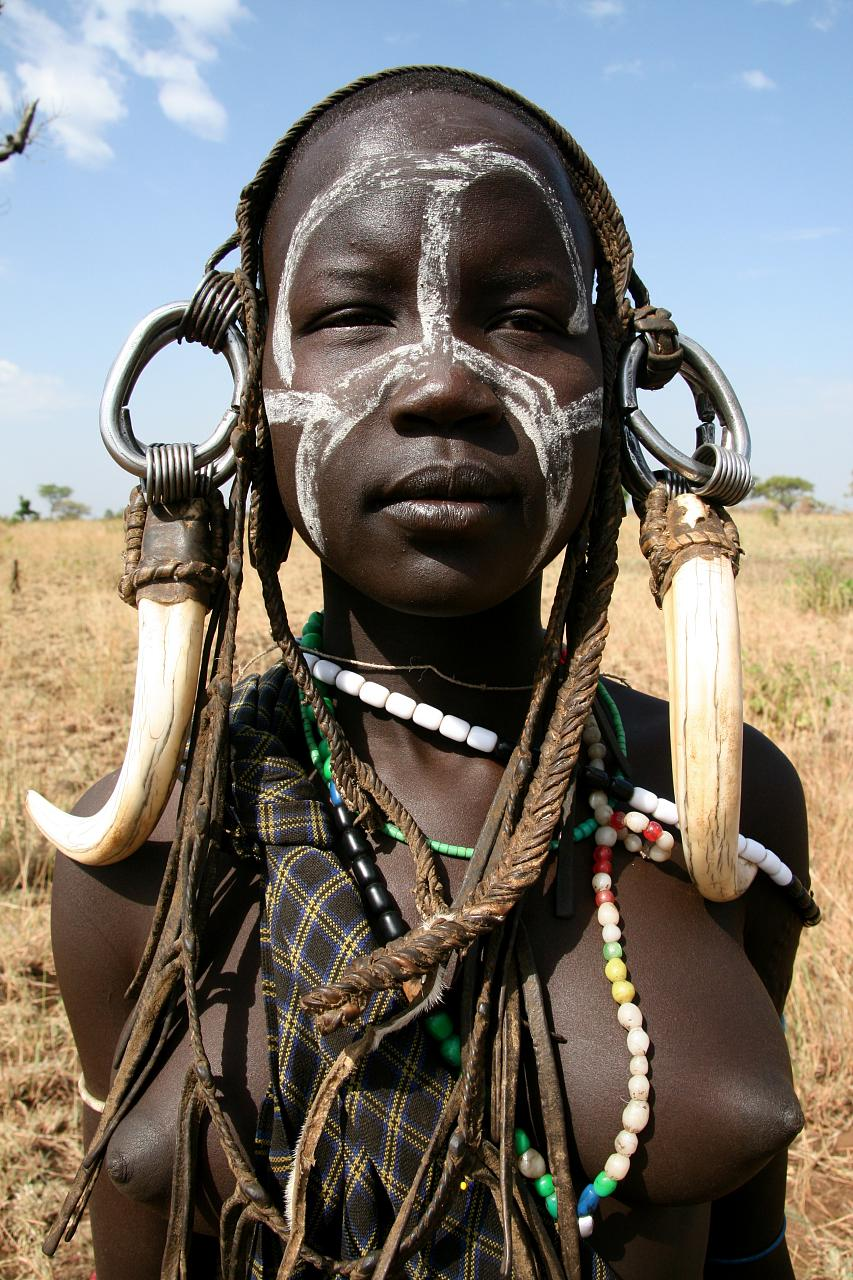 mursi tribe ethiopia 2 The Mursi Tribe Of Ethiopia