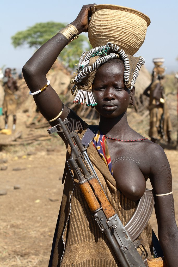 mursi tribe ethiopia 5 The Mursi Tribe Of Ethiopia