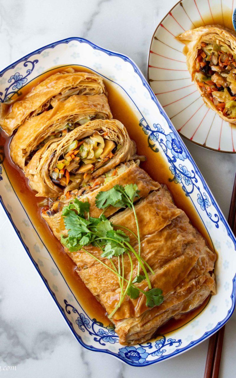 Tofu Skin Roll (Yuba) 腐皮卷