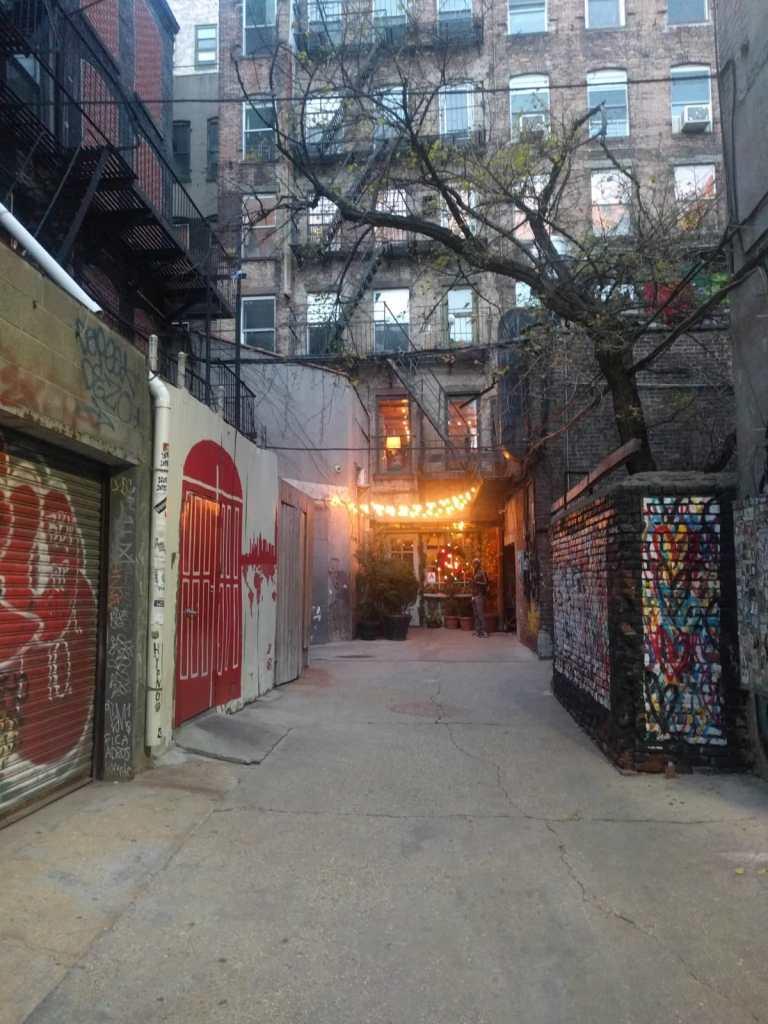 NY, Freeman Alley, street art