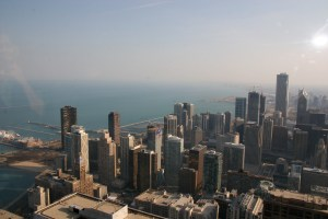 Chicago, view from Hancock Tower