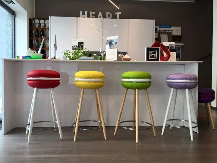 Macaron Barkrukken van LIVING Design Studio  woonmooi