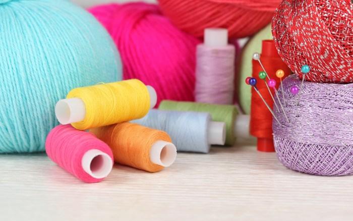 breien, naaien en knutselen