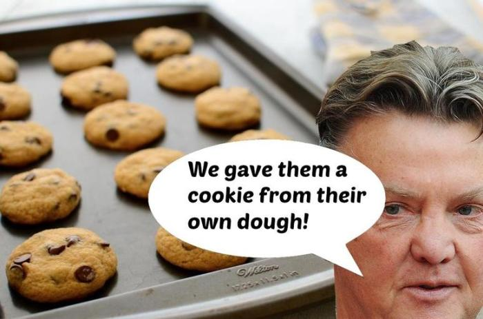 Cookie from their own dough