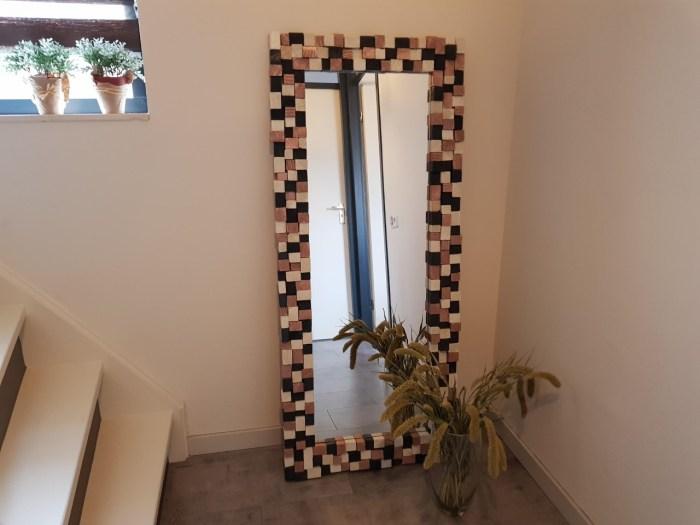 DIY blokjesspiegel