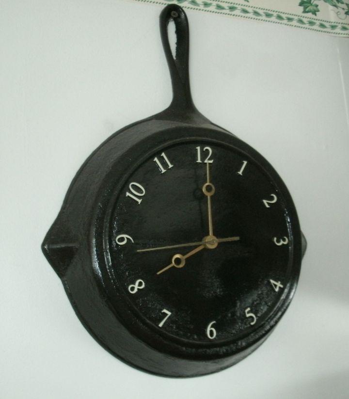 klok van steelpan maken