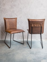 Comfortable leather chairs - Woontheater