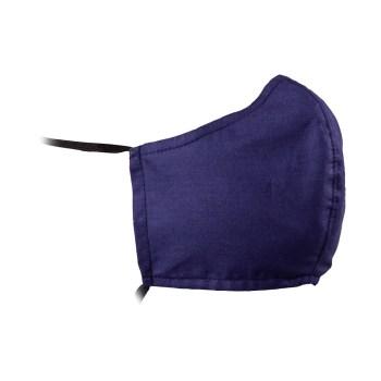 masca bumbac bleumarin
