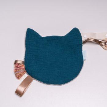 Jucărie Doudou Pisică Albastră