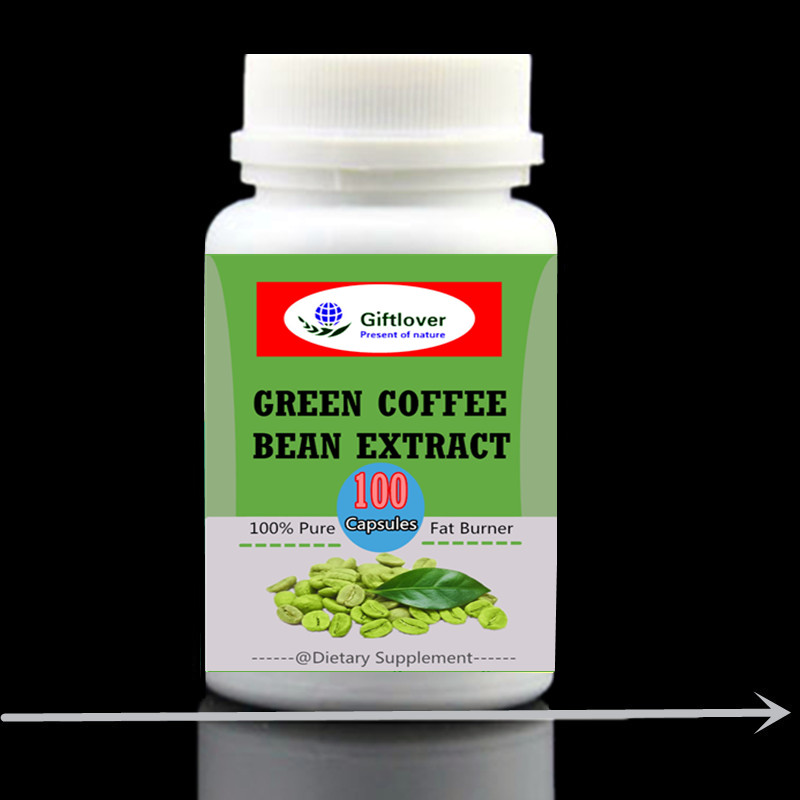 Green Coffee Bean Extract With Gca Natural Weight Loss Supplement