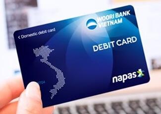 Thẻ ghi nợ nội địa Wooribank