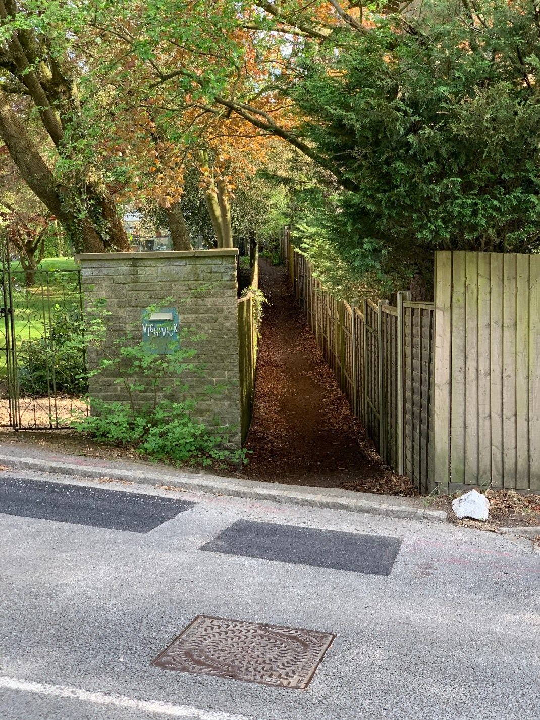 wootton parish fox lane footpath
