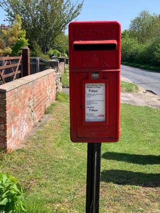 wootton parish postbox