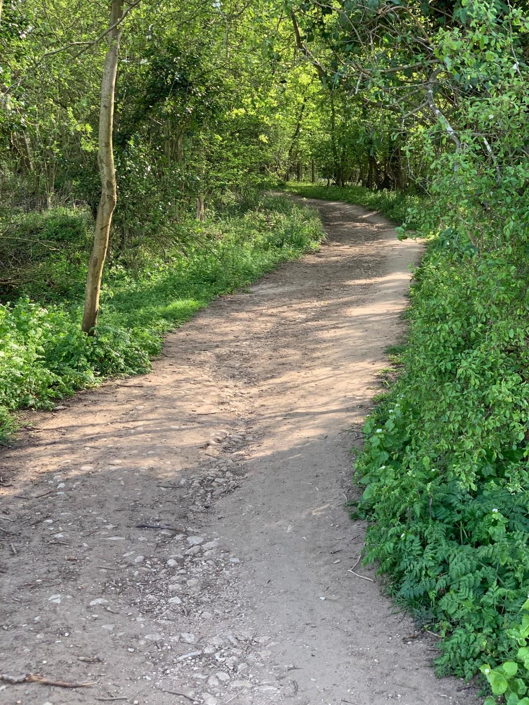 wootton parish youlbury path end of parish