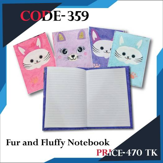 Fur and Fluffy Notebook