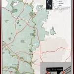 Map at Wake / Johnston County line