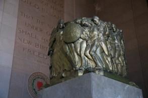 Memorial Auditorium Soldiers