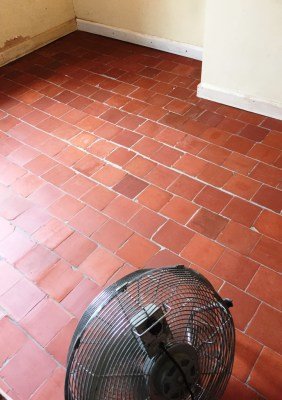 Quarry Tiles Refurbishment Worcestershire Farm