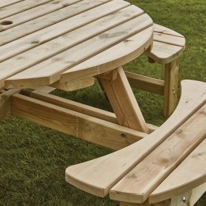 Appleton Round Picnic Bench