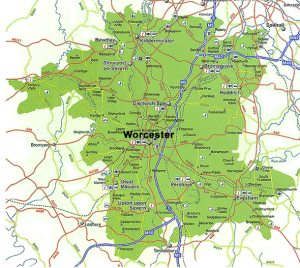 worcestershire_map_detailed