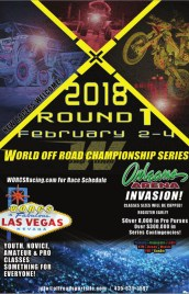 ROUND 1 – ORLEANS ARENA – LAS VEGAS, NV – FEBRUARY 2-4, 2018 EVENT FLYER