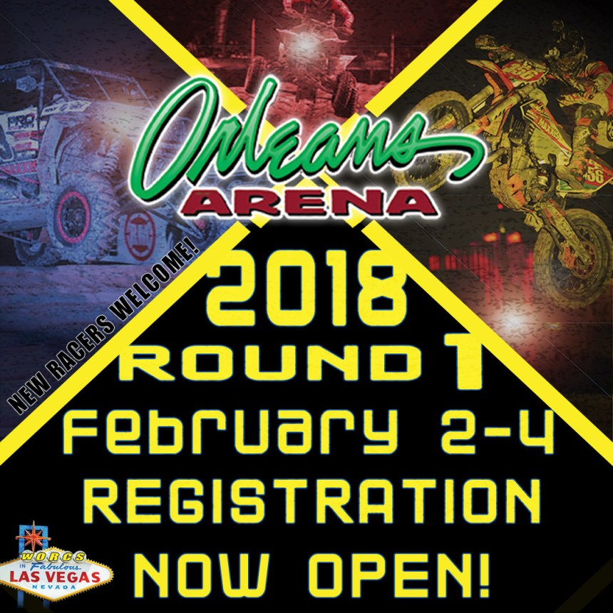 WORCS 2018 ROUND 1 REGISTRATION IS NOW OPEN! - WORLD OFF ROAD CHAMPIONSHIP SERIES