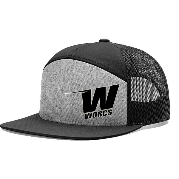 Hat WORCS 7 Panel Grey Black