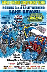 2018 Rnd 3 & 4 MC ATV SXS SPLIT WEEKEND RACE FLYER - CRAZY HORSE CAMPGROUND - LAKE HAVASU, AZ