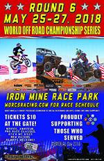 2018 Round 6 Iron Mine Race Park Flyer