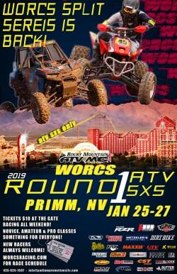 2019 ROUND 1 ATV SXS ONLY PRIMM, NV