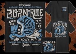 2019 WORCS Round 1 T-Shirt