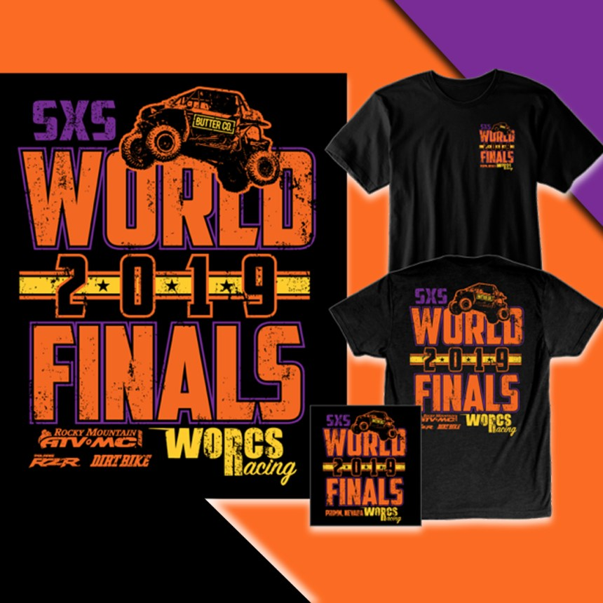 2019 Rounds 8 & 9 SXS World Finals T-Shirt