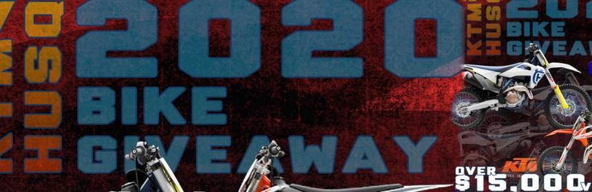 2020 KTM HUSQ Bike Giveaway