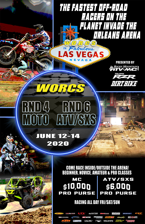 2020 Round 4 MC Round 6 ATV SXS MC Vegas