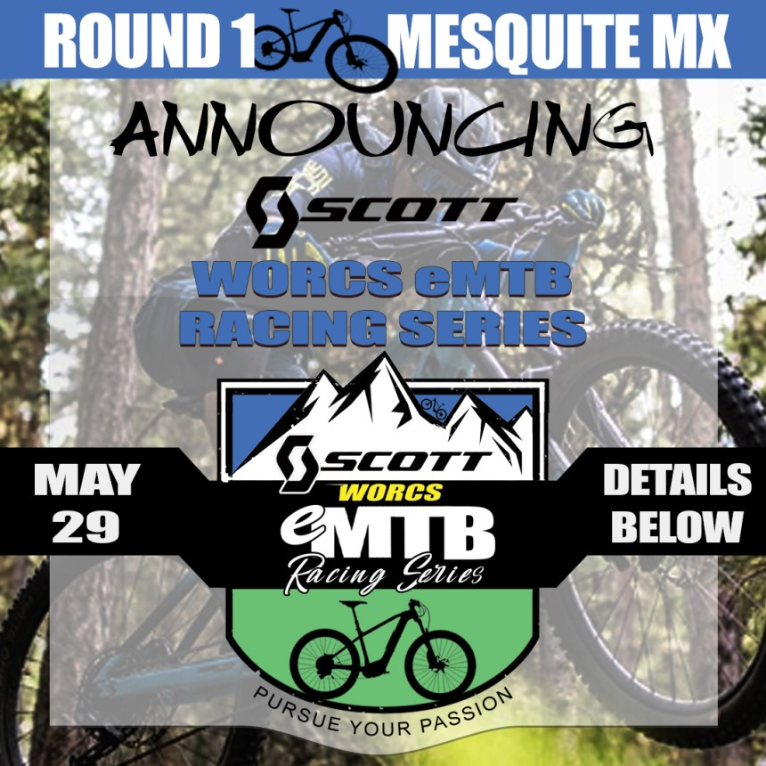 We are excited to announce the Scott Sports WORCS eMTB Racing Series! @scottsports @scottsportsusa⁠ ⁠ Join us for this new action packed fun racing event sponsored by Scott Sports. Put those electric mountain bikes to the ultimate test and race!⁠